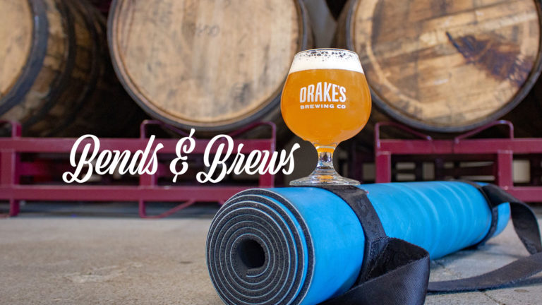 Bends & Brews Yoga Live